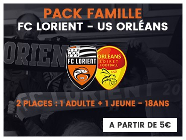 PACK FAMILLE US ORLÉANS